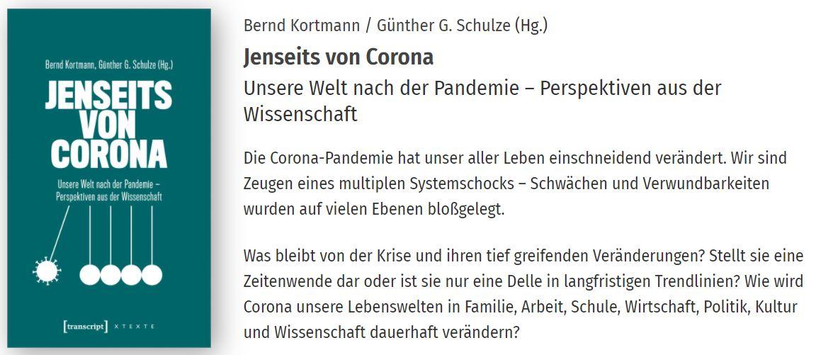 Jenseits von Corona. Wissenschaftliche Kurzanalysen