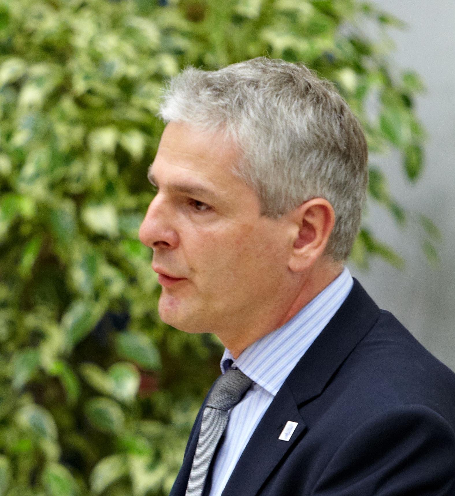 Jan Ihwe im Sprecherrat der DGWF-Landesgruppe Baden-Württemberg